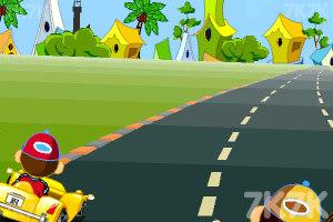 《卡通跑车计时赛》游戏画面3