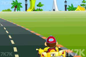《卡通跑车计时赛》游戏画面10