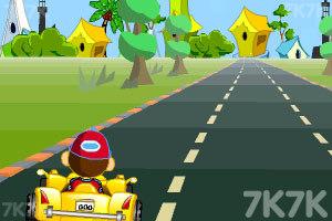 《卡通跑车计时赛》游戏画面2