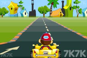 《卡通跑车计时赛》游戏画面6