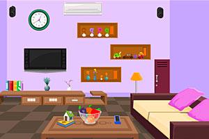 《温馨卧室出逃》游戏画面1