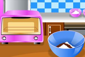 《巧克力鲜果蛋糕》游戏画面1