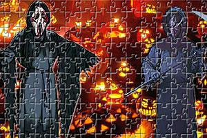 《万圣节恐怖拼图》游戏画面1