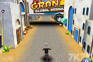 《愤怒奶奶玩跑酷3》游戏画面4