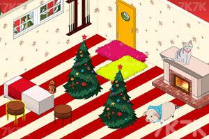 《豪华公主卧室圣诞版》游戏画面4