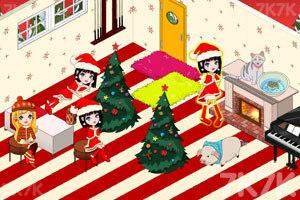 《豪华公主卧室圣诞版》游戏画面3