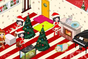 《豪华公主卧室圣诞版》游戏画面2