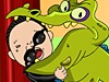 鸟叔与鳄共舞