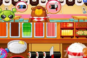 《小熊猫做紫菜包饭》游戏画面9