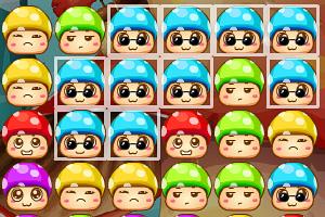 《多彩蘑菇头消消看》游戏画面1