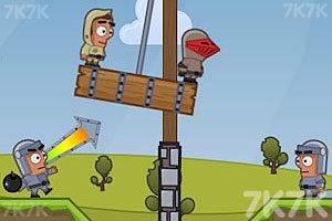 《投掷炸弹》游戏画面4