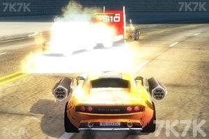 《激情燃烧的赛车》游戏画面2