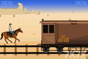 《追击铁路大盗》游戏画面5