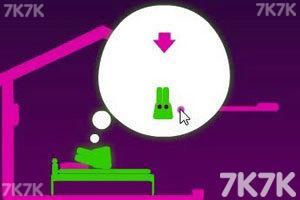 《长耳朵小绿怪2选关版》游戏画面2