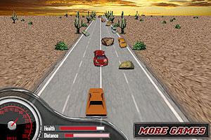 《3D肌肉赛车手无敌版》游戏画面1