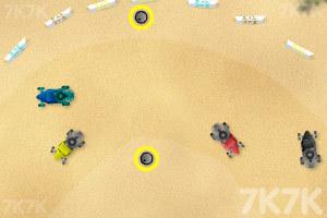 《沙地赛车》游戏画面5