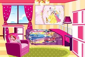 《女孩的可爱卧室》游戏画面1