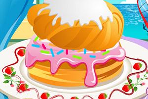 《泡芙蛋糕》游戏画面1