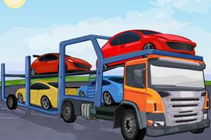 《运输汽车的大卡车2无敌版》游戏画面1