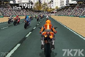 《全明星摩托赛》游戏画面3