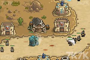 《皇家守卫军2英雄全开中文版》游戏画面2