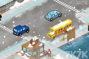 《称职的交警冬季版》游戏画面3
