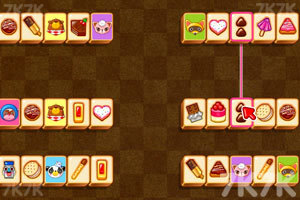 《巧克力连连看》游戏画面1