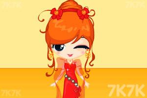 《卡通公主换装》游戏画面1
