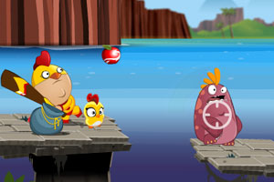 《小鸡超人无敌版》游戏画面1