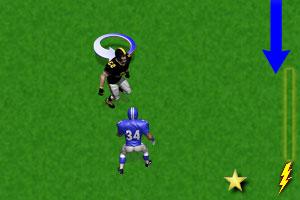 《橄榄球攻击手》游戏画面1