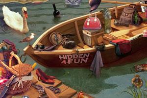 《野餐湖边找东西》游戏画面1