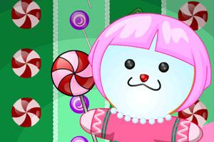 《为姜饼娃娃打扮》游戏画面1