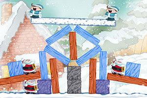 《不愤怒的圣诞老人无敌版》游戏画面1
