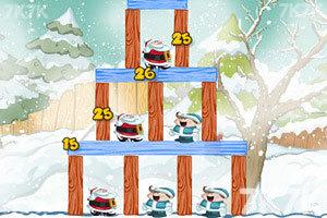 《不愤怒的圣诞老人无敌版》游戏画面5