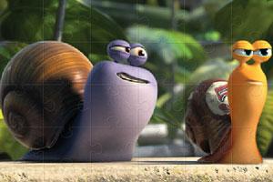 《极速蜗牛大拼图》游戏画面1