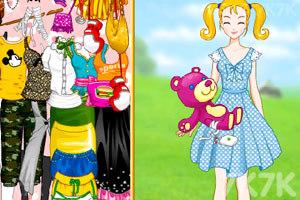 《大头妹和姐姐扮公主》游戏画面3