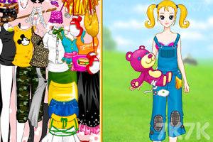 《大头妹和姐姐扮公主》游戏画面2
