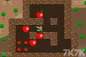 《小蜗牛推苹果2》游戏画面2