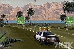 《警车追捕逃犯》游戏画面2