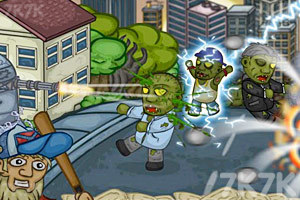 《最后的僵尸攻城》游戏画面1