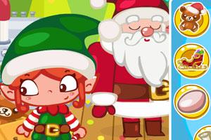 《圣诞节偷懒》游戏画面1