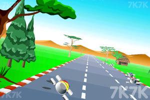 《公路汽车比赛》游戏画面9