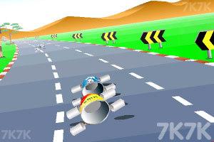 《公路汽车比赛》游戏画面10
