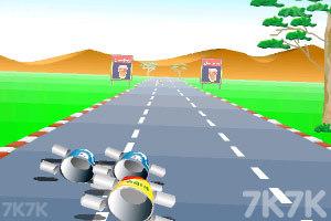 《公路汽车比赛》游戏画面5