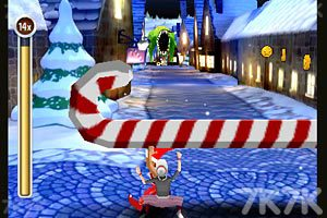 《愤怒奶奶玩跑酷圣诞版》游戏画面4