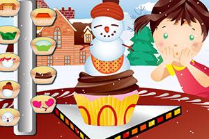 《雪人蛋糕》游戏画面1