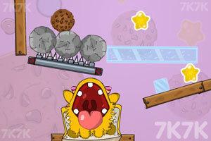 《小黄怪吃饼干》游戏画面1