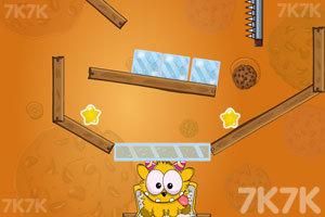 《小黄怪吃饼干》游戏画面4