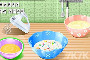 《新年美味蛋糕》游戏画面4