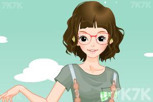 《小女生开学换装》游戏画面6